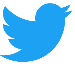 Twitter Logo Blue copie